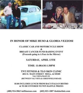 A Classic Car and Motorcycle Show in Honor of Mike Huso & Gloria Vezzosi