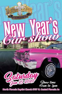 New Year's Car Show